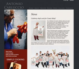 Antonio-carluccio.com official - 20th February