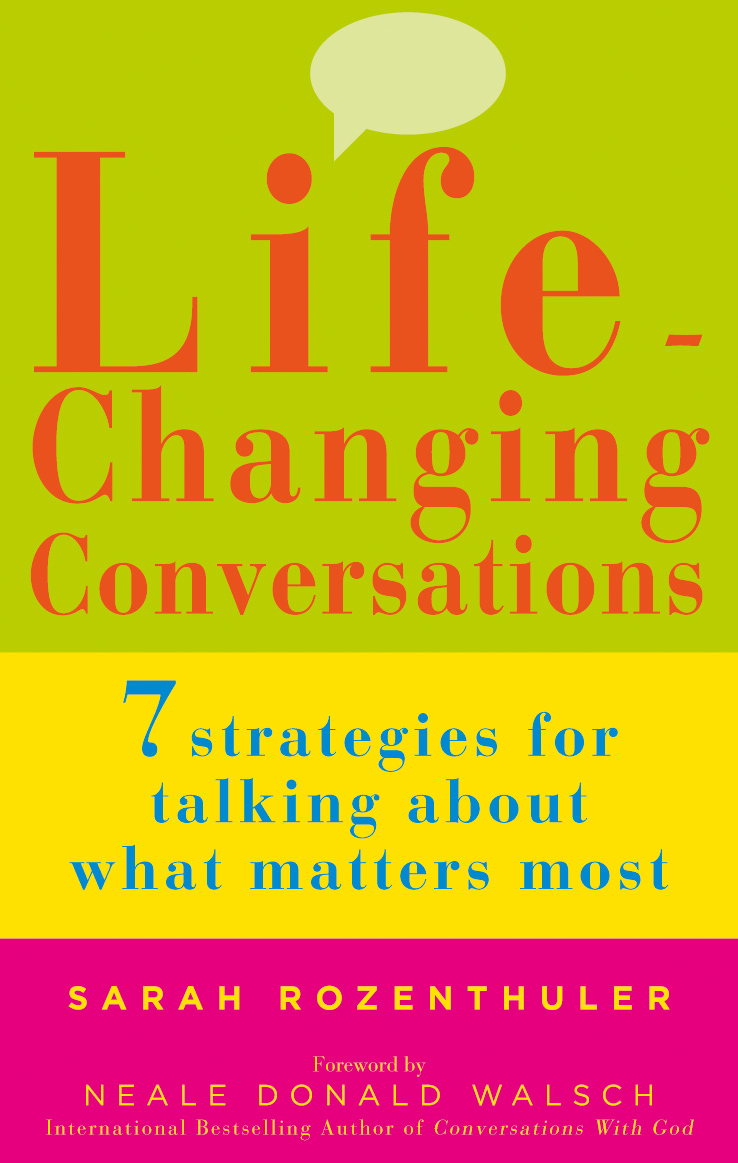 Life Changing Conversations Book