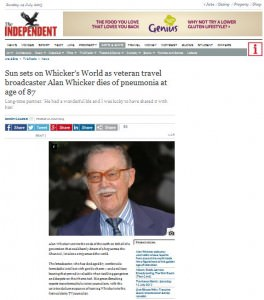 Alan Whicker  Independent