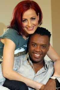 David and Carrie Grant at home in north London. 14/02/07©Alex Maguire