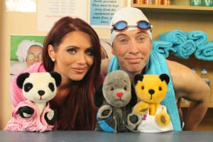 Amy Childs joins Sooty