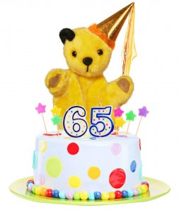 Sooty Birthday Cake