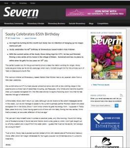 Sooty birthday