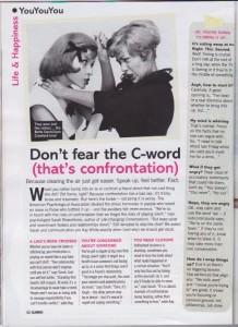 Glamour magazine sept13