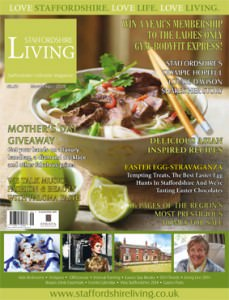 Staffordshire Living cover