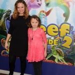Charlie Brooks attended a VIP screening of new animation film 'The Reef 2: High Tide' out on national release October 25th, Soho Hotel, London.