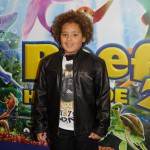 Devon Higgs who plays Morgan in EastEnders attended a VIP screening of new animation film 'The Reef 2: High Tide'
