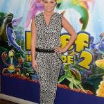 Billi Mucklow attended a VIP screening of new animation film 'The Reef 2: High Tide'