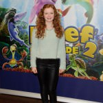 Maisie Smith who plays Tiffany in EastEnders attended a VIP screening of new animation film 'The Reef 2: High Tide'