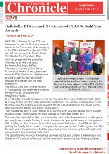 PTA The Limavady Chronicle