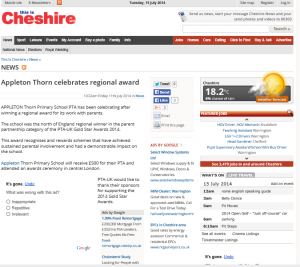 This is Cheshire Appleton Thorn