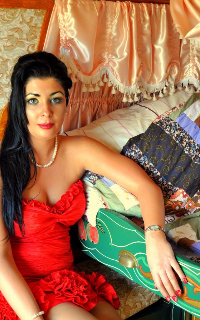 Roisin Mullins Gypsy Caravan