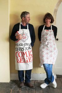 Comic Relief Apron