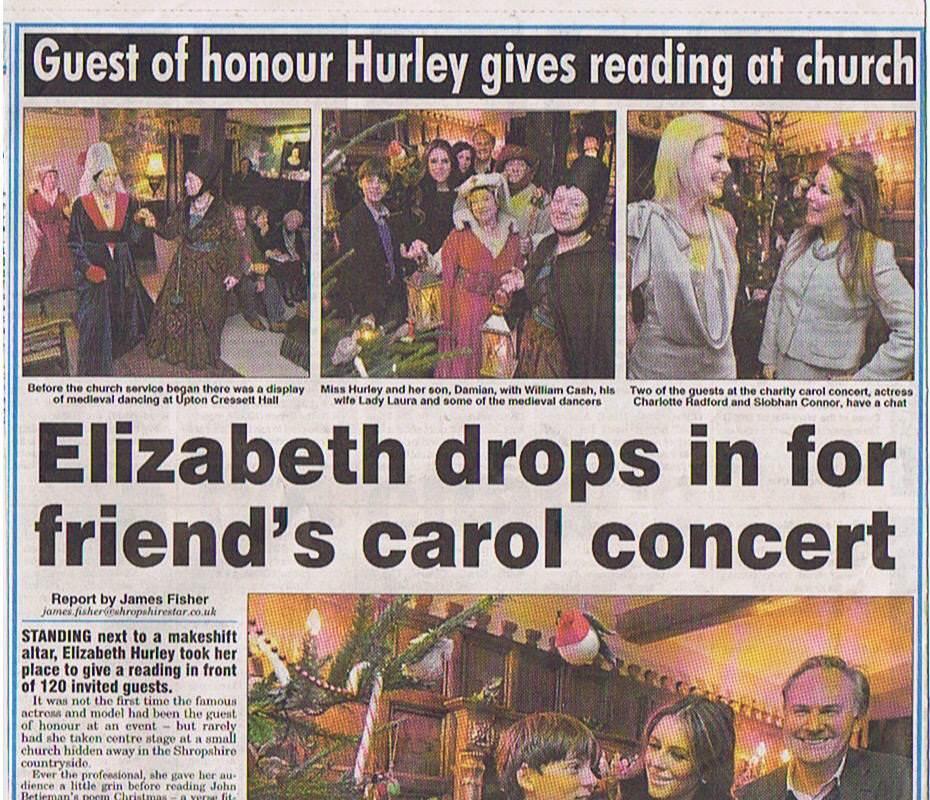 Liz Hurley Shropshire Star