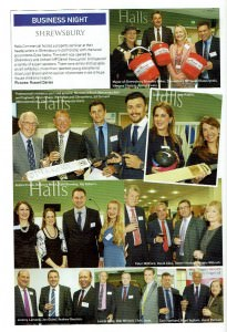 Halls Commercial one year event Shropshire Magazine