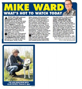 dog-rescuers-Daily Star 26th May