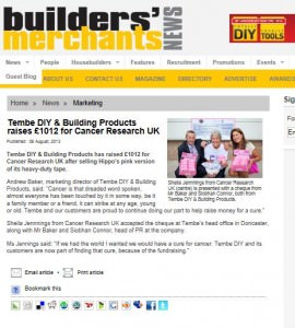 Builder's Merchant News