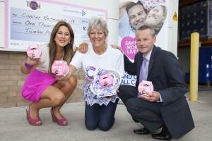 Tembé DIY & Building Products raise £1012 for Cancer Research UK