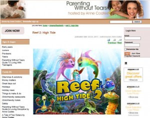 reef-parenting without tears