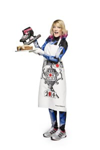 Emma Bridgewater has created two limited edition aprons for Sport Relief 2014 available from HomeSense and TK Maxx stores