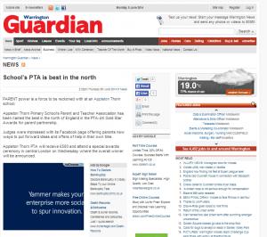 PTA Warrington Guardian