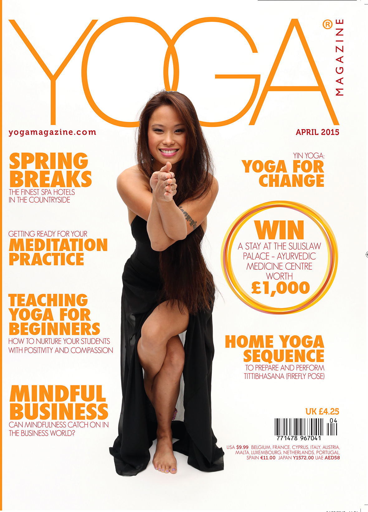 My Soul Space - Yoga Cover Magazine