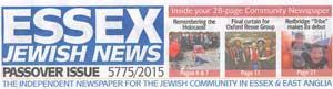 Essex Jewish News April 2015 Cover